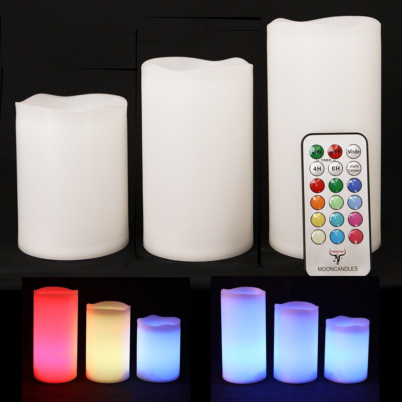 71RmBIvDG4L._SL1500_ Schöne Kerze Leuchtet In Verschiedenen Farben Dekorationen