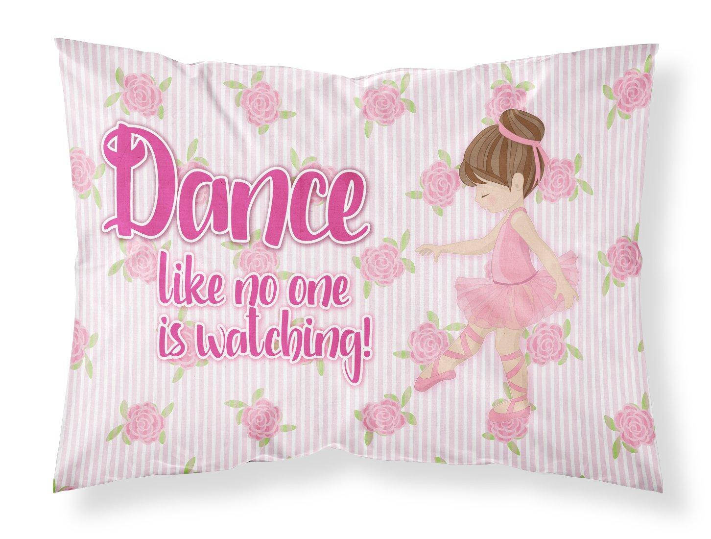 Multicolor Carolines Treasures Ballet Dance Blonde Pillowcase Standard