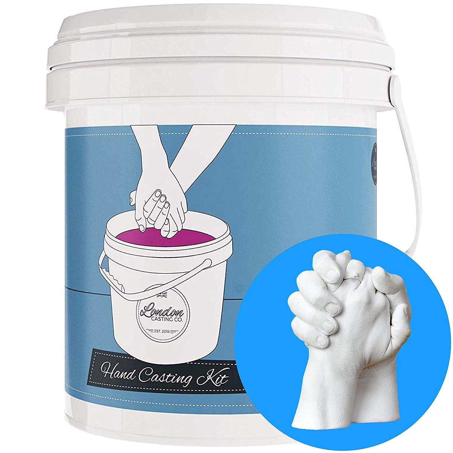 Valentine's Day Gift! Couples 3D Casting kit - Holding Hands