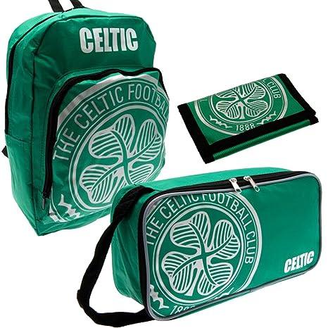 Celtic Official Merchandise - Mochila infantil verde