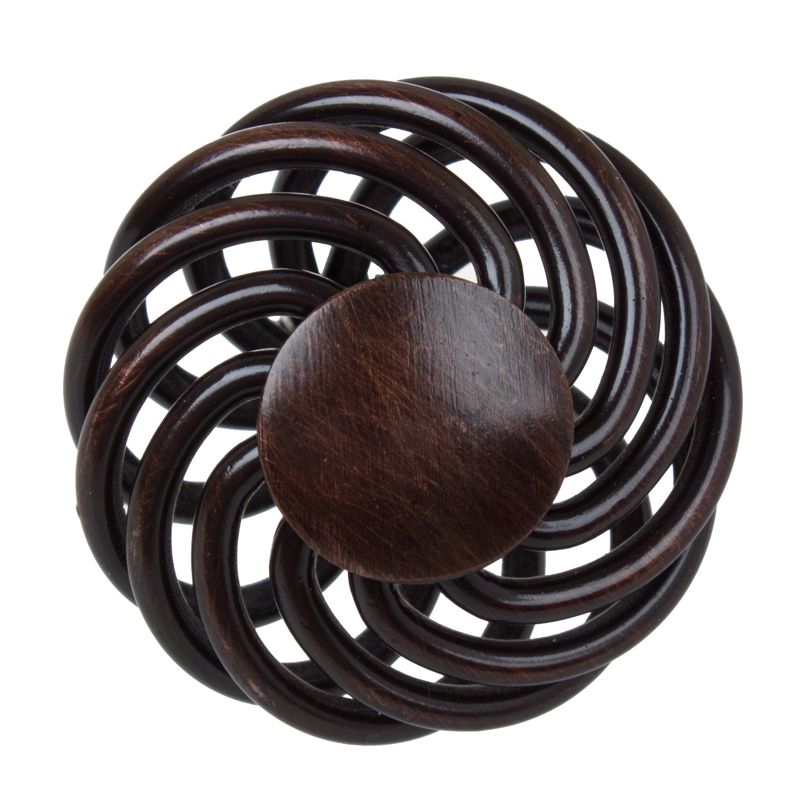 GlideRite Hardware 3072-ORB-100 Round Birdcage Cabinet Knob, 100 Pack, 1.625'', Oil Rubbed Bronze by GlideRite Hardware (Image #3)