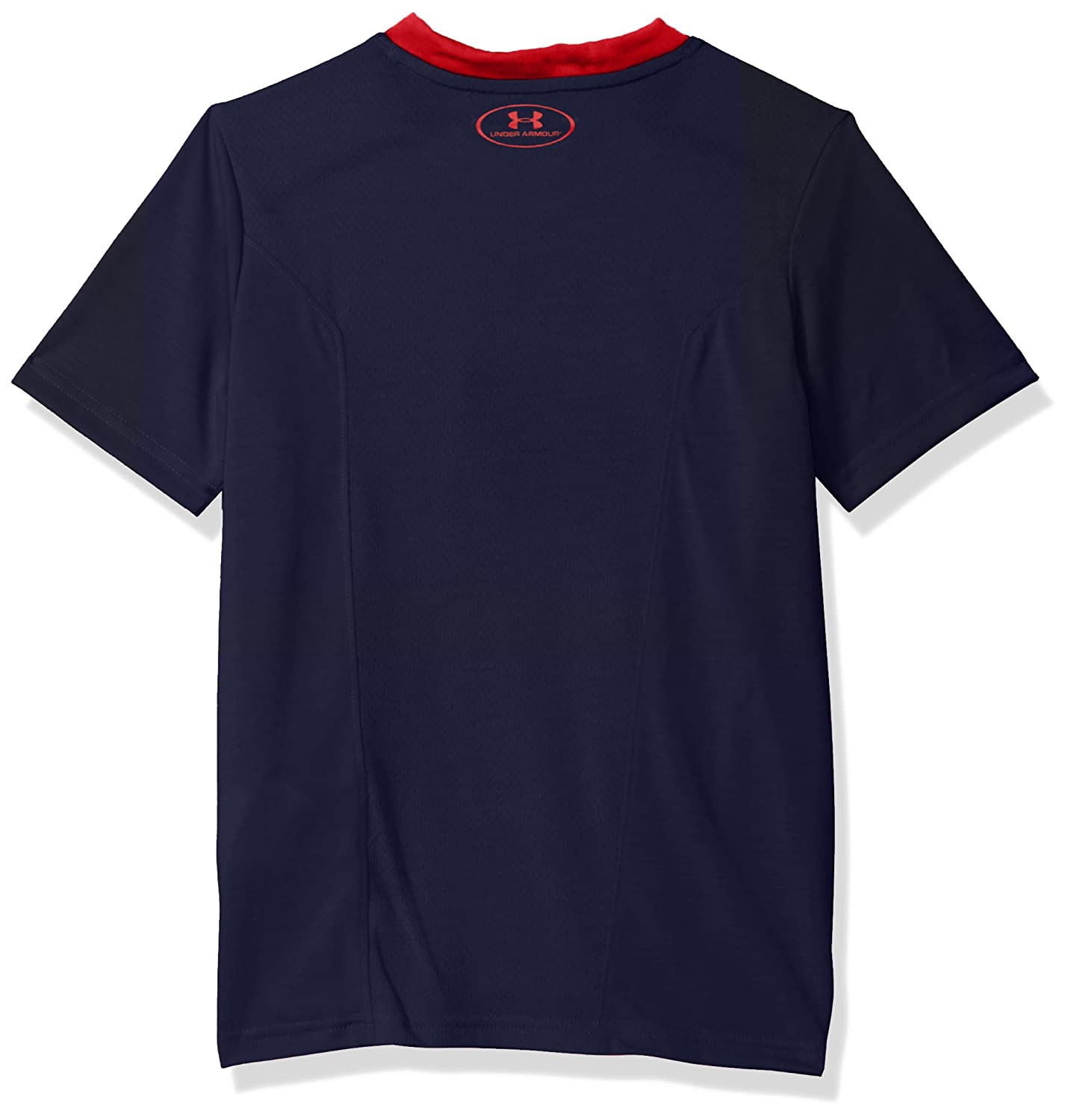 Navy Large Under Armour NCAA Mississippi Old Miss Rebels Teen-Boys NCAA Boys Short Sleeve Vented Tee