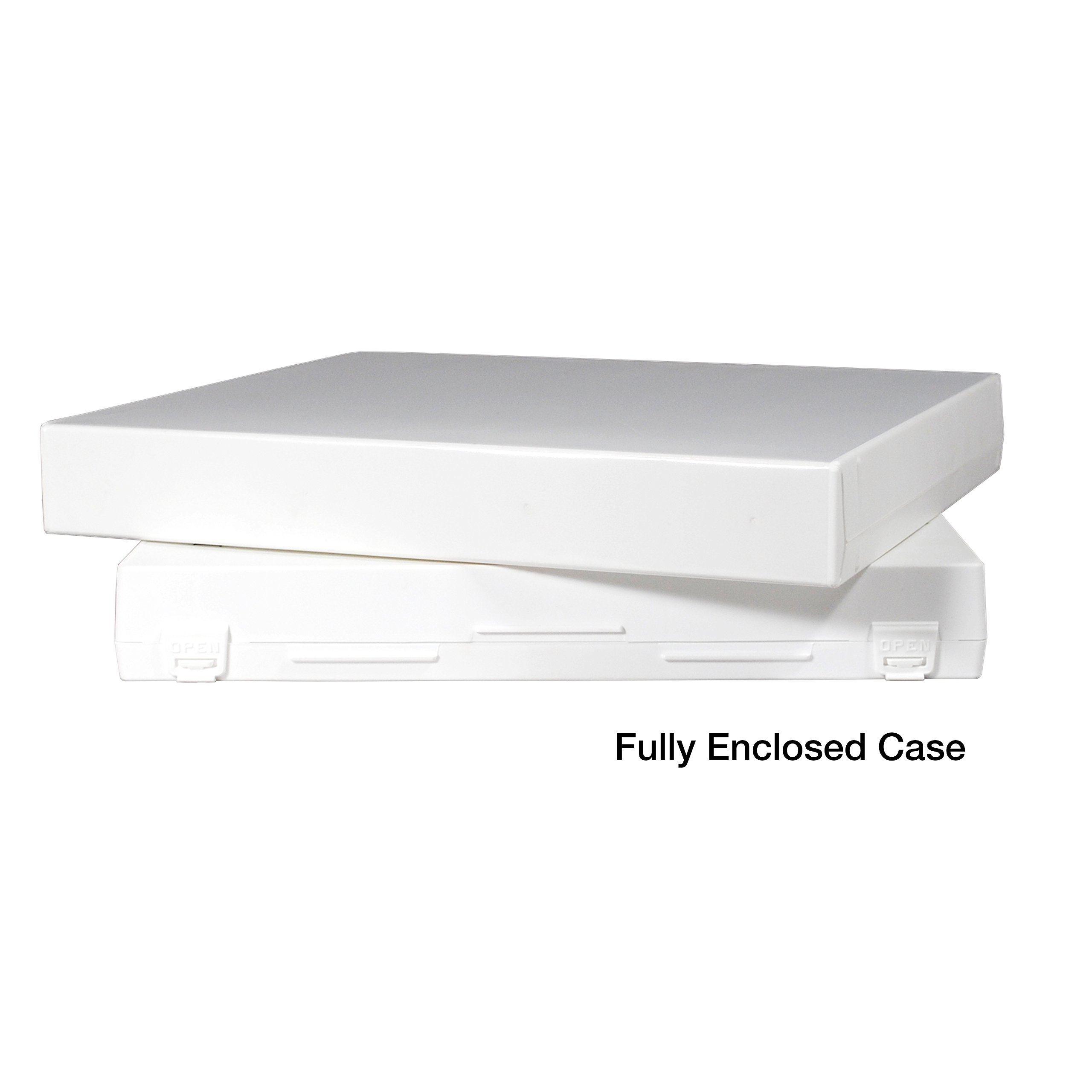 UniKeep Case/Box- 1.5 Inch Spine - Without Clear Overlay - No Rings - Pack of 15 by UniKeep