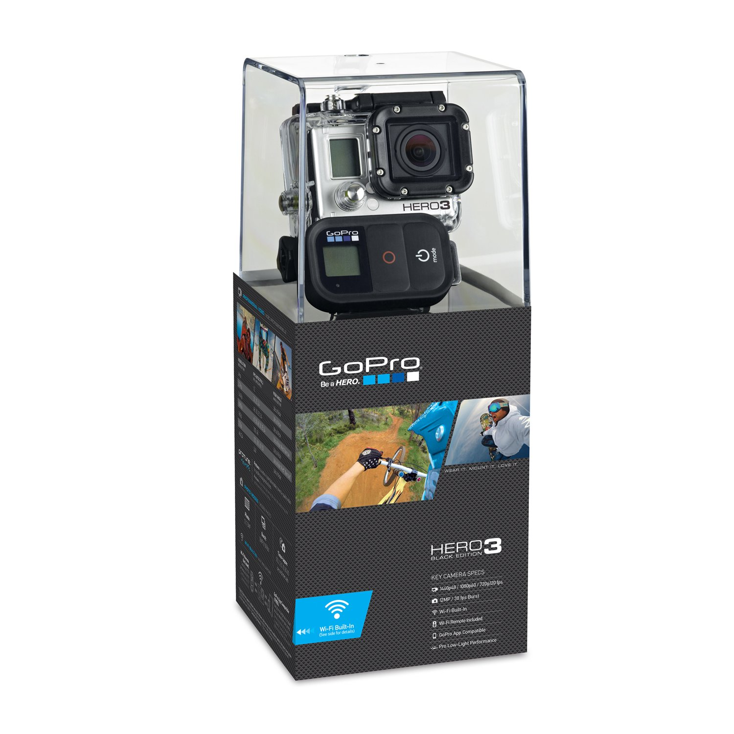 GoPro HERO3: Black Edition GoPro Camera CHDHX-301