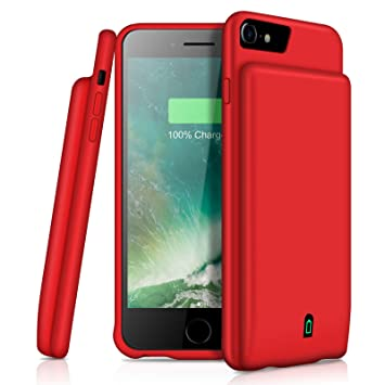 Funda de batería para iPhone 7, 8, 6 y 6S, Compatible con ...