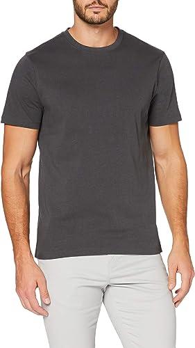TALLA L. MERAKI Camiseta Entallada Hombre, Algodón Orgánico