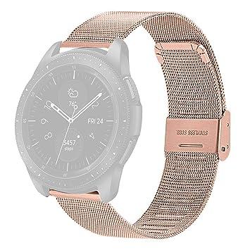 SHSH Correa de Repuesto para Reloj Samsung Galaxy Watch de ...