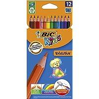 BIC Kids Evolution Kuru Boya Kalemi, 12'li Kutu