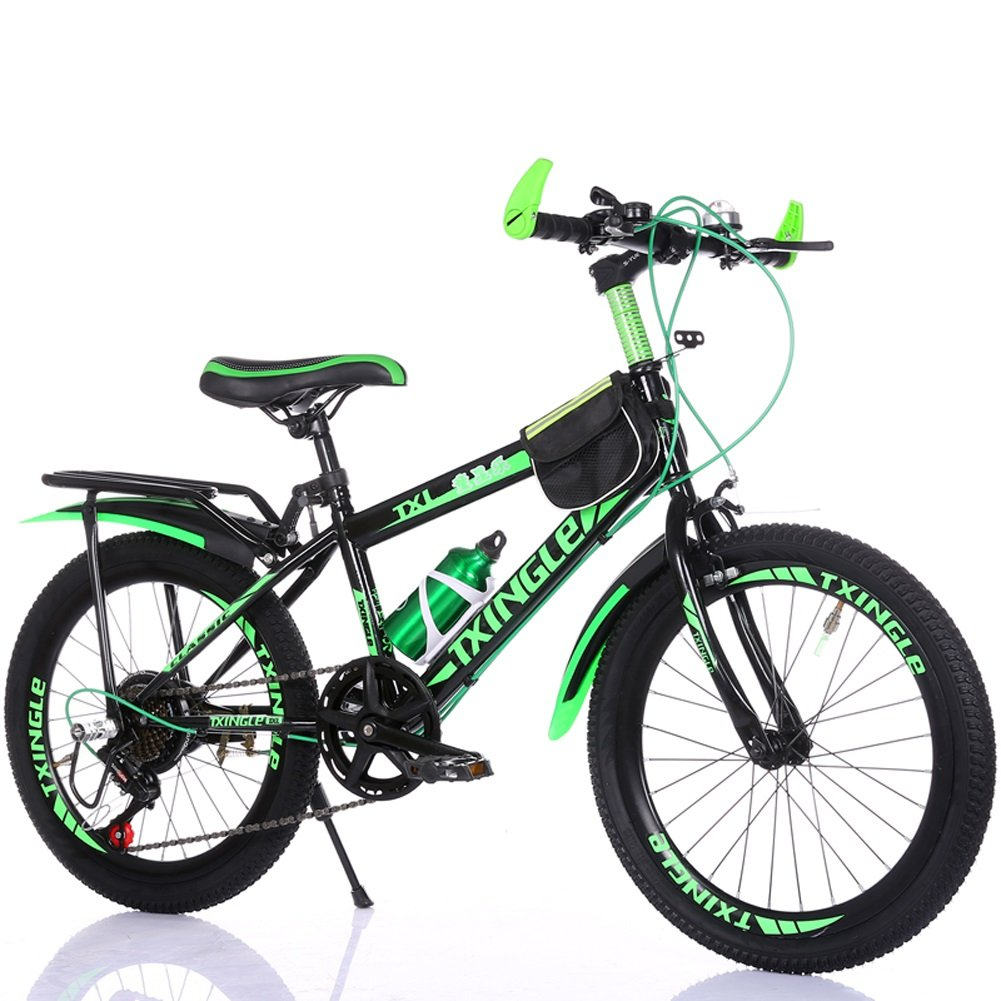 buen precio verde verde verde 22  Projoeccion TCFXHZXC Bicicleta para niños 6-7-9-10-15 años Cochero de bebé 18 20 22 Pulgadas Niños y niñas Alumnos Velocidad Variable Bicicleta de montaña (Color   verde, Talla   20 )  compras online de deportes