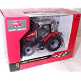 Britains red massey ferguson 5613 tractor 1:32 scale diecast model