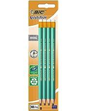Bic - Ecolution Evolution 655 - Blister de 8 Crayons Graphites
