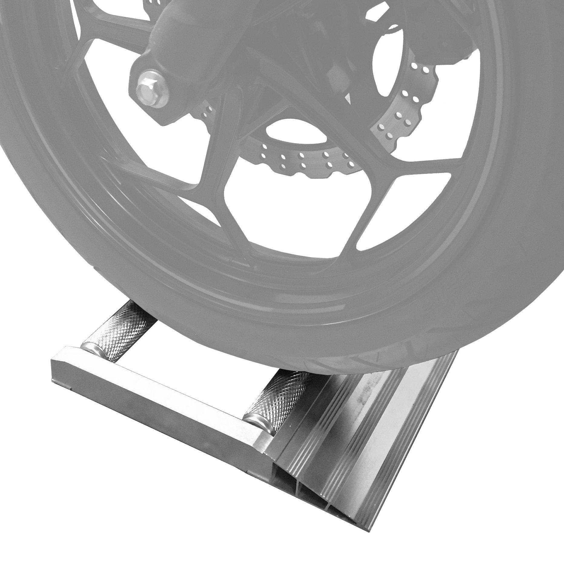 MaxxHaul 80401 Motorcycle Wheel Cleaning Stand - 500 lb. Capacity