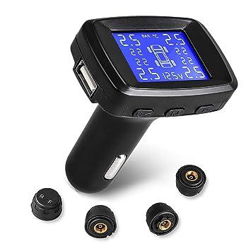 Mnioky TPMS Sistema de Sensor de Presión Monitor sobre ...