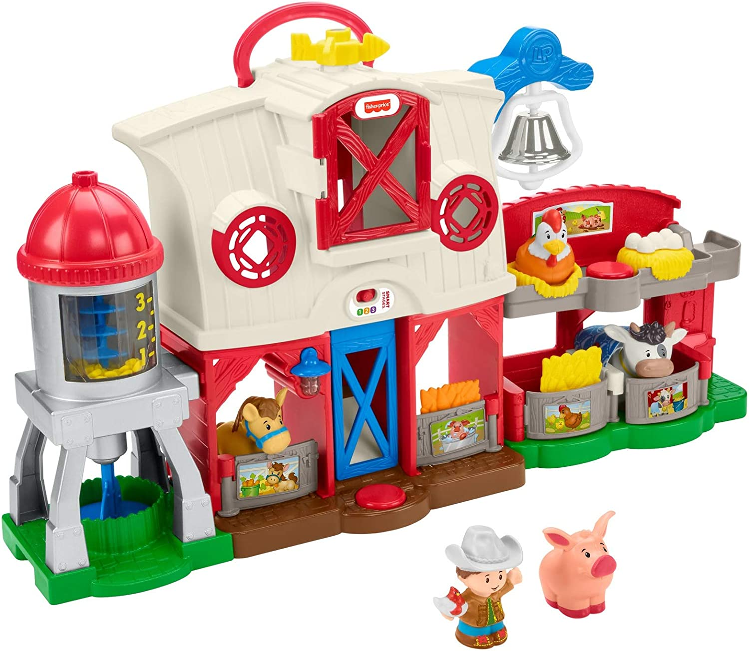 Fisher Price Little People Caring For Animals Farm Amazon Co Uk Toys Games
