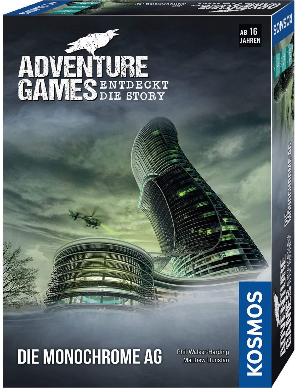 Adventure Games - Die Monochrome AG: 1 - 4 Spieler