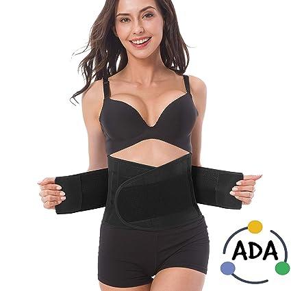 023a88152 ADA Waist Stomach Belt Shaper Fitness Belt Yoga Wrap Hot Belt Unisex Weight  Loss Back Pain