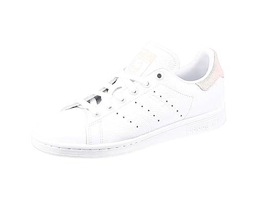hot sale online c14ff 61806 adidas Stan Smith W Scarpe da Fitness Donna, Bianco FtwblaMaruni 0, 36