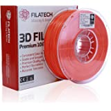 Filatech ABS Filament, Lum. D. Orange, 1.75mm, 0.5KG