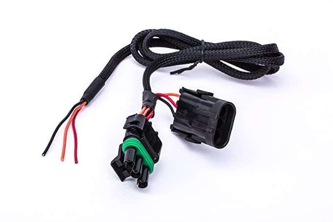 power play parts can am maverick x3 quick harness for license plate, whip light, or rear chase light can am defender wiring diagram can am maverick 1000r 4x4 wire harness
