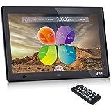 """SSA 10.1"""" Cadres photo numérique HD Built-in Storage Motion Sensor Cadre photo numérique (Noir)"""