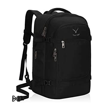 9b5b93887 Amazon.com | Hynes Eagle Travel Backpack 40L Flight Approved Carry on  Backpack Black 2018 | Casual Daypacks