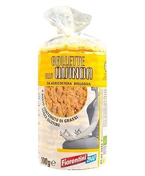 Fiorentini Bio pasteles en quinua Gluten 120g: Amazon.es: Salud y cuidado personal