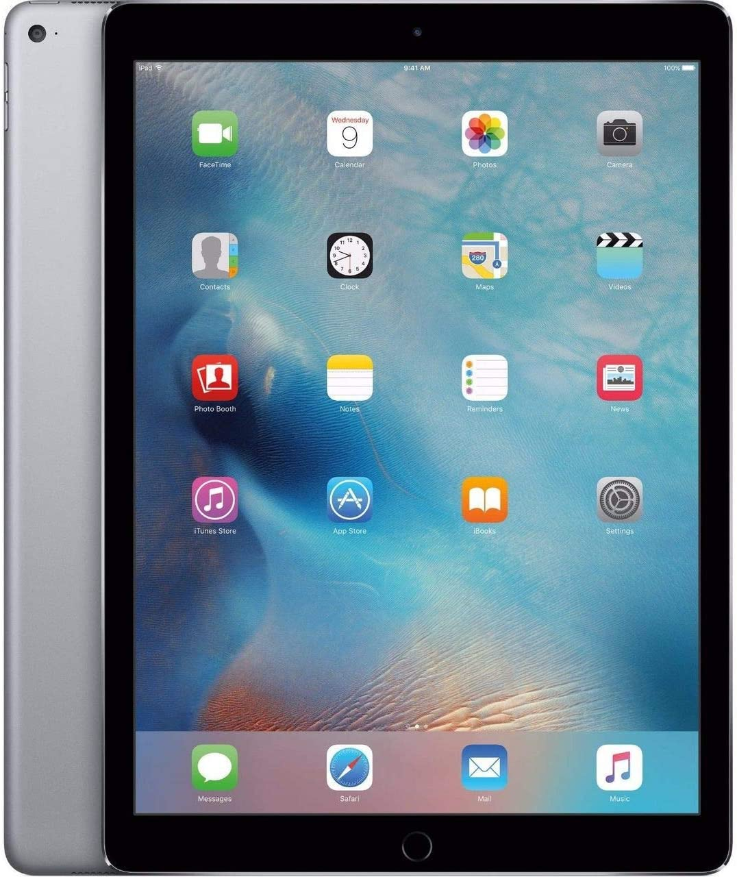 Apple iPad with WiFi + Cellular, 32GB, Space Gray (2017 Model) (Renewed)