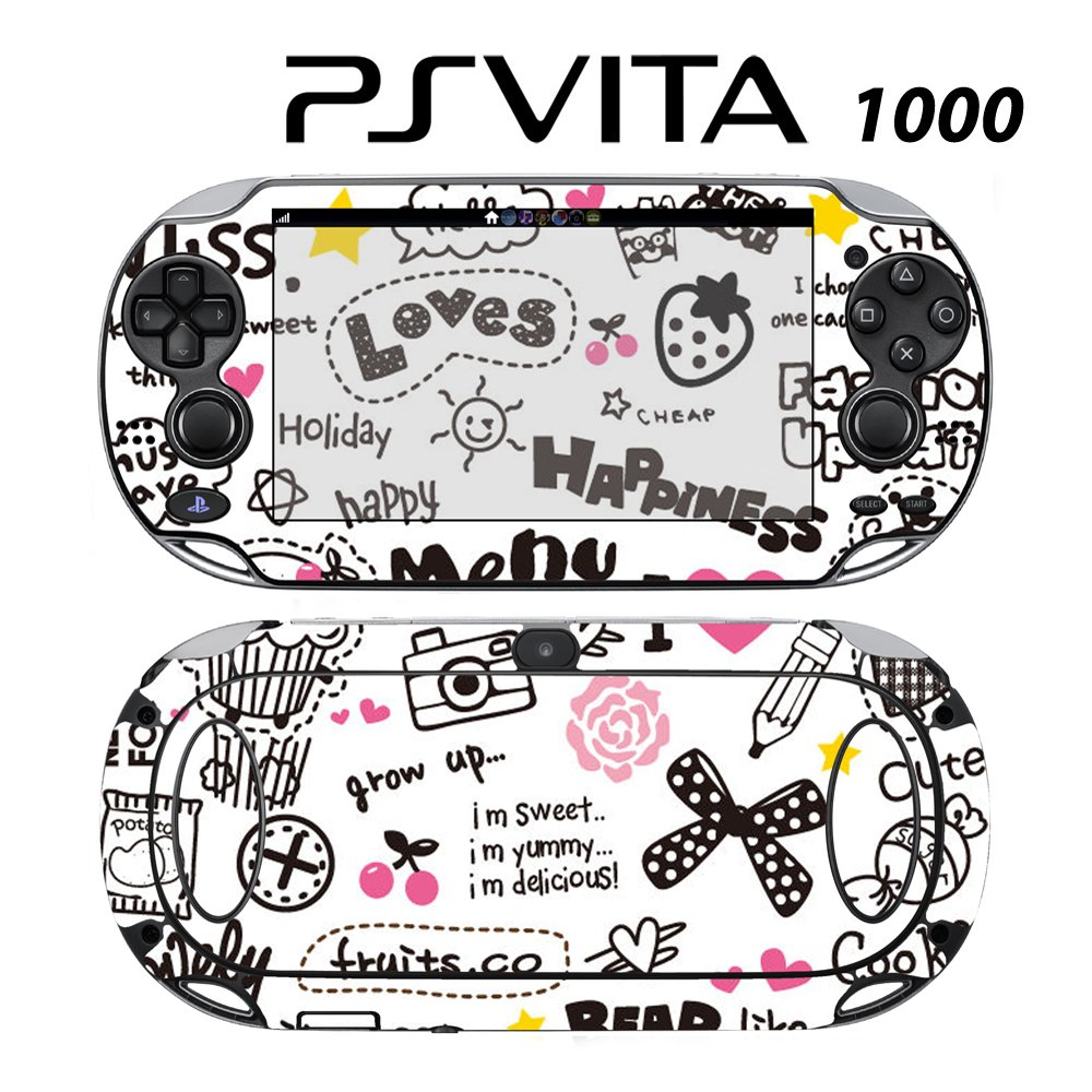 Decorative Video Game Skin Decal Cover Sticker for Sony PlayStation PS Vita (PCH-1000) - Miss.