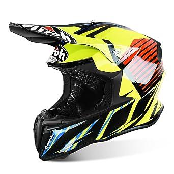 Airoh 2016 Twist MX MTB – Casco de motocross – Strange – Azul