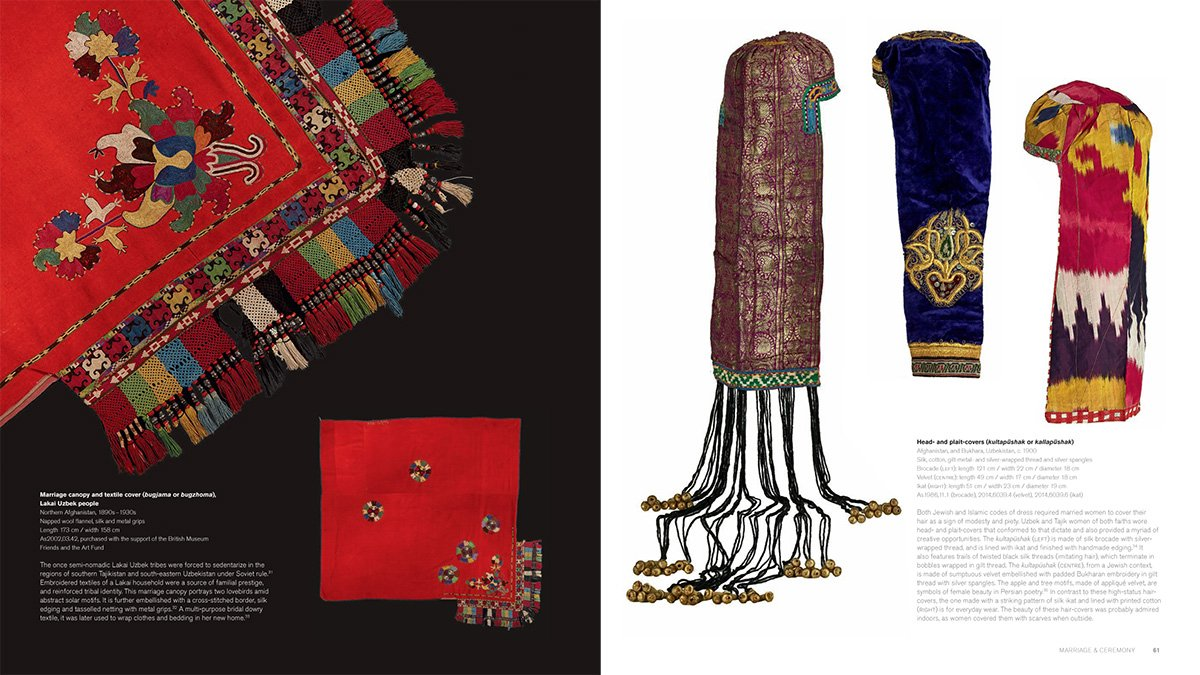 Textiles of the Middle East and Central Asia: The Fabric of Life by THAMES HUDSON (Image #6)