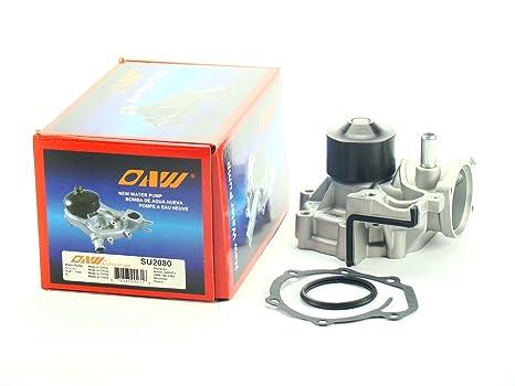 Amazon com: OAW SU2080 2-HOSE Engine Water Pump for 03-05