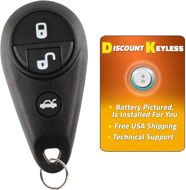 NHVWB1U711 Key Fob fits Subaru Forester Impreza Legacy Outback Keyless Entry Remote