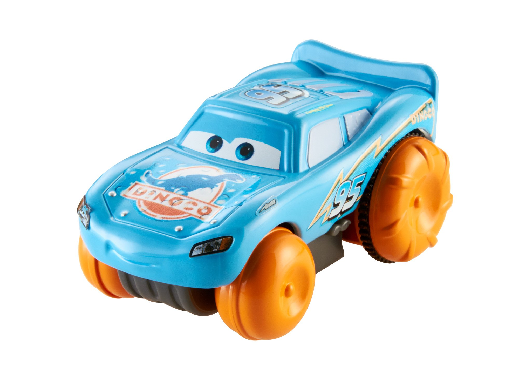 CRUZ RAMIREZ hydro wheels splash racers disney pixar cars 2 3 NEW bath pool toy