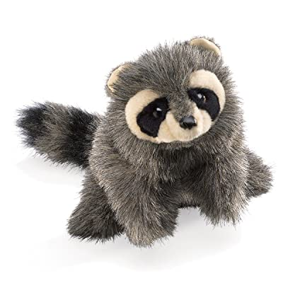 Folkmanis Baby Raccoon Hand Puppet: Toys & Games
