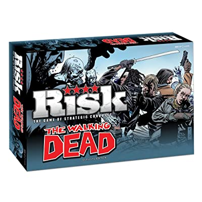 The Walking Dead Risk: Survival Edition: Game: Toys & Games