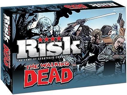The Walking Dead Risk: Survival Edition (versión en inglés): Amazon.es: Juguetes y juegos