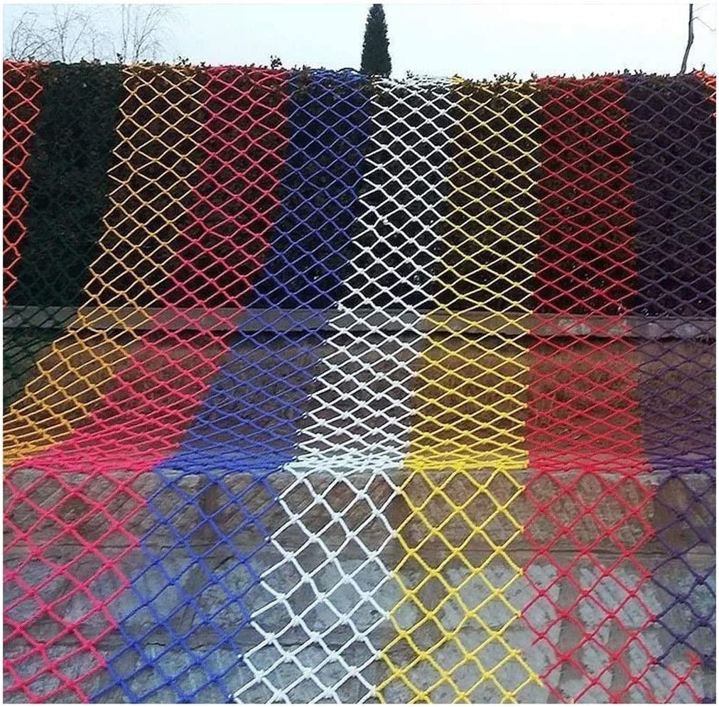 TorchJPA 6 Colors Outdoor Rope Net Protective Net Sunshade Net Net Bird Net Family Decoration of Stairs Family Protection Pet Protection Cargo Protection Safety Decoration Site Protection Mult