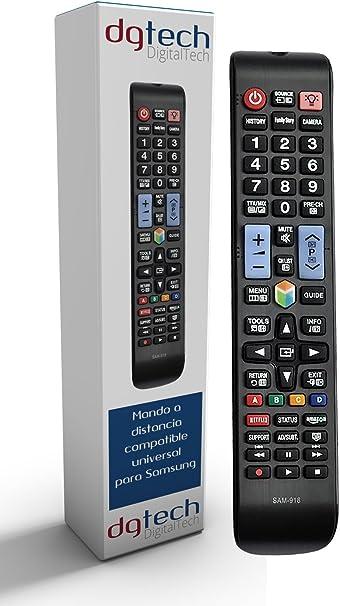 DigitalTech® - Mando Universal para televisores Samsung Smart 3D ...