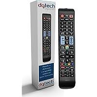 DigitalTech® - Telecomando Universale per Smart TV 3D Samsung. Compatibile con più di 340 modelli di controller Samsung.