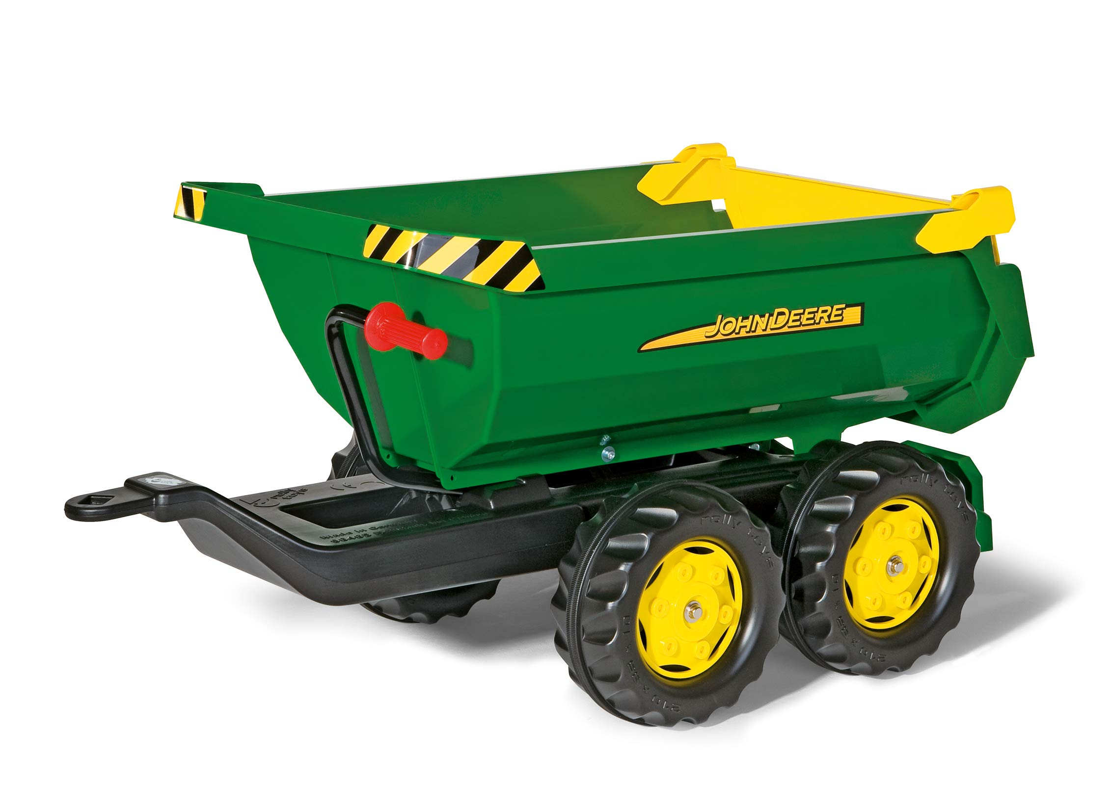 rolly toys S2612216 Franz Cutter John Deere Giant Half-Pipe Trailer, OneSize by rolly toys (Image #1)
