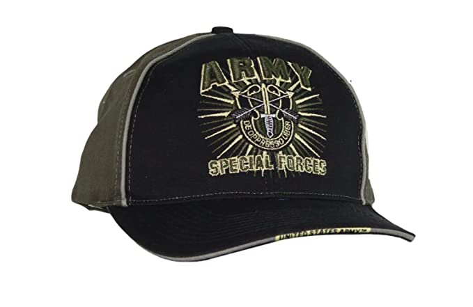 efbe8dc6ea0 Image Unavailable. Image not available for. Color  Capsmith Men s US Army  Special Forces Embroidered Cap ...