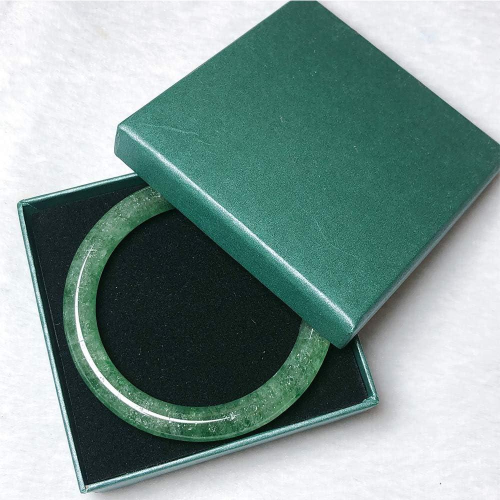 Jade Bangle Jade Bracelet Gemstone Bangle Green Strawberry Quartz Bangle Crystal Bracelet 57.6mm