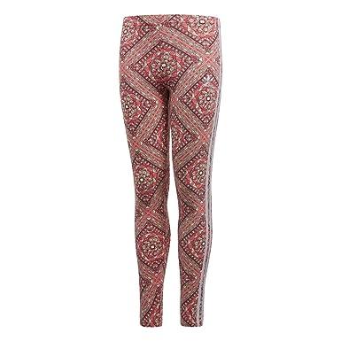 Leggings adidas - J Grphc Aop rosa/blanco/multi talla: 147 a 152 cm altura - de 11 a 12 años: Amazon.es: Ropa y accesorios