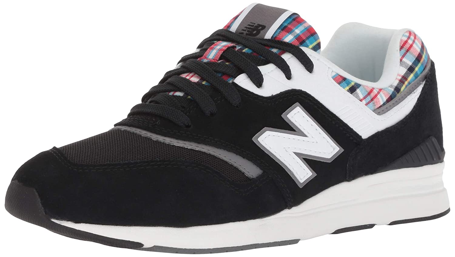 New Balance Wl697 B Leather Leather Leather Mesh Synthetic - tra schwarz, Größe 5 f0c21f