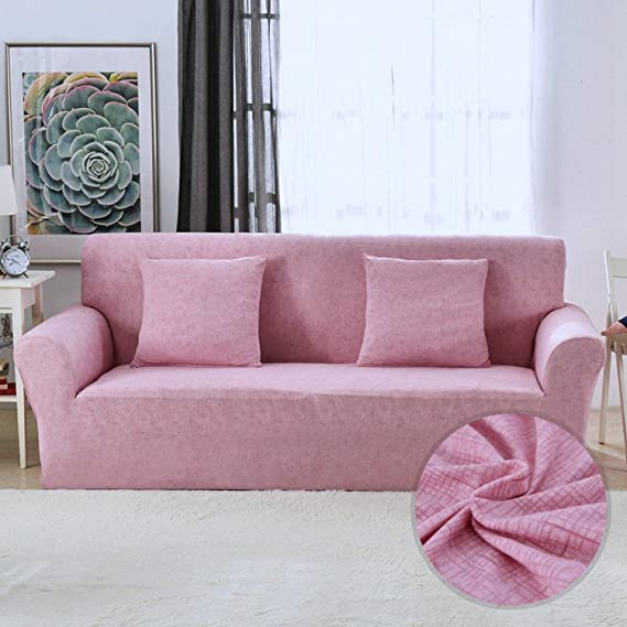 Amazon.com: No Buy No Bye High Elastic Sofa Cover All ...