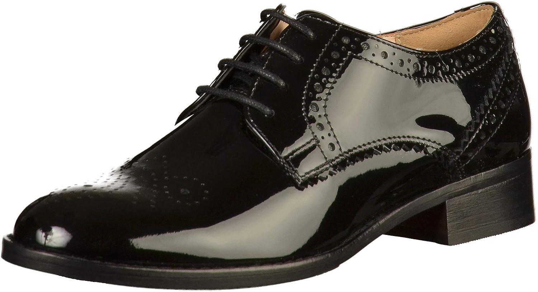 Clarks 39 Netley Rose, Derbys Femme 39 Clarks EU|Noir (Black Patent -) 73f099
