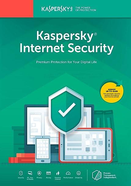 Kaspersky Internet Security 2018   3 Device   1 Year [Key Code]