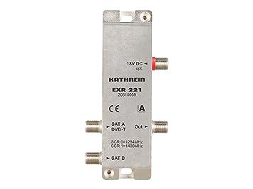 Kathrein EXR 221 - distribuidores de vídeo (11,7 cm, 3,5 cm, 2,3 cm ...