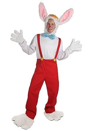 Fun Costumes Unisex Adult Cartoon Rabbit Costume Standard