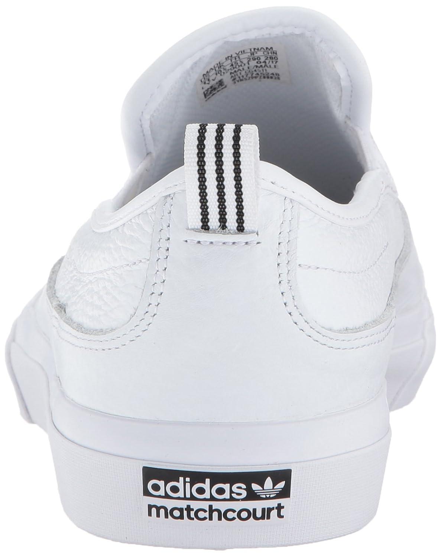 new styles d8baa e35a2 Zapatillas de skate adidas Originals para hombre Matchcourt Slip Blanco    Blanco   Blanco